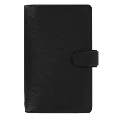 Kalenderpärm Filofax Personal Compact Saffiano svart 1