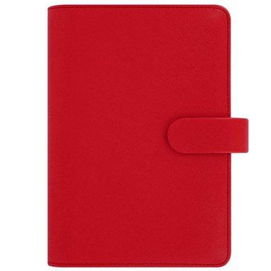 Kalenderpärm Filofax Personal Saffiano röd 1