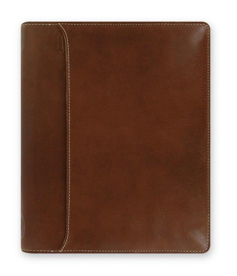 Kalenderpärm Filofax A5 Lockwood zip brun 1