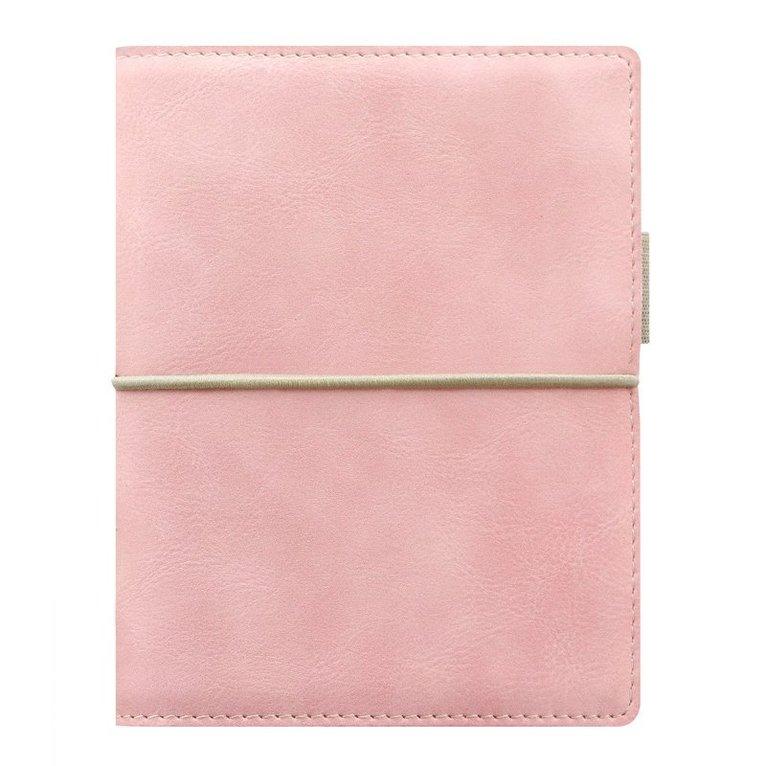 Kalenderpärm Filofax Pocket Domino Soft ljusrosa 1