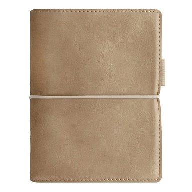 Kalenderpärm Filofax Pocket Domino Soft ljusbrun 1