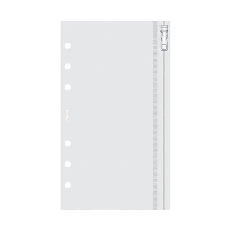 Kalenderdel Filofax Personal Plastficka dragkedja 1