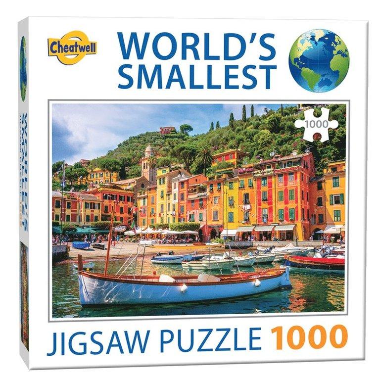 Pussel 1000 bitar World's Smallest Portofino 1