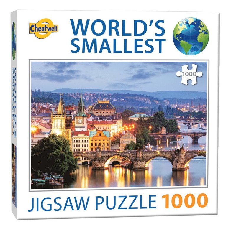 Pussel 1000 bitar World's Smallest Prauge Bridges 1