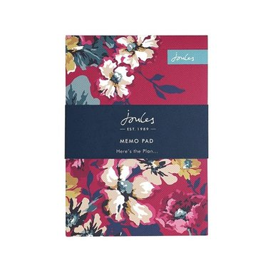 Notisblock 15x11cm Joules Floral 1