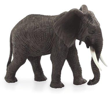 Plastfigur elefant afrikansk