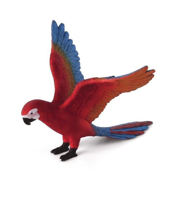 Plastfigur papegoja 1