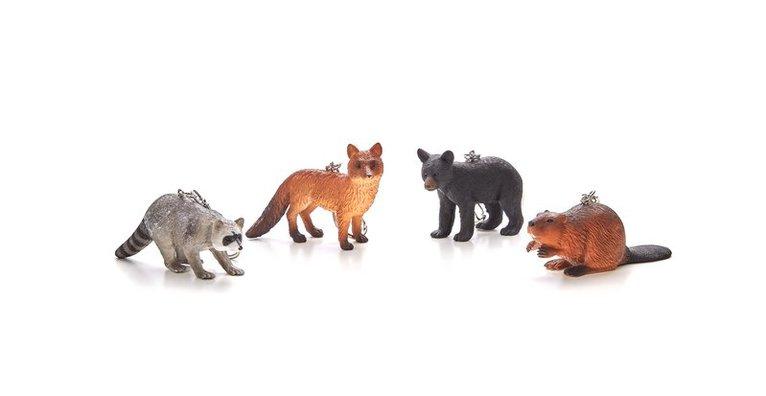 Nyckelring Skogens djur 1