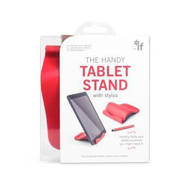 The Handy Tablet Stand röd