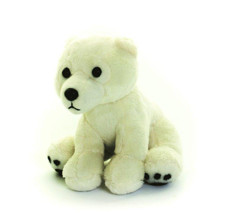 Mjukdjur Living Nature isbjörn 1
