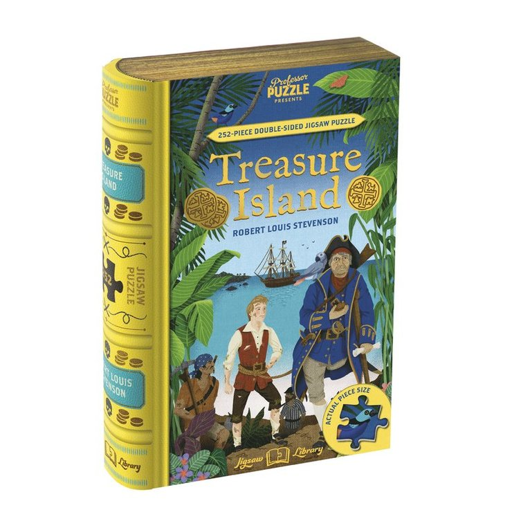 Pussel 252 bitar Treasure Island 1