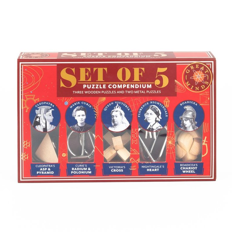 Great Minds Set of 5 (women) ed.2 1