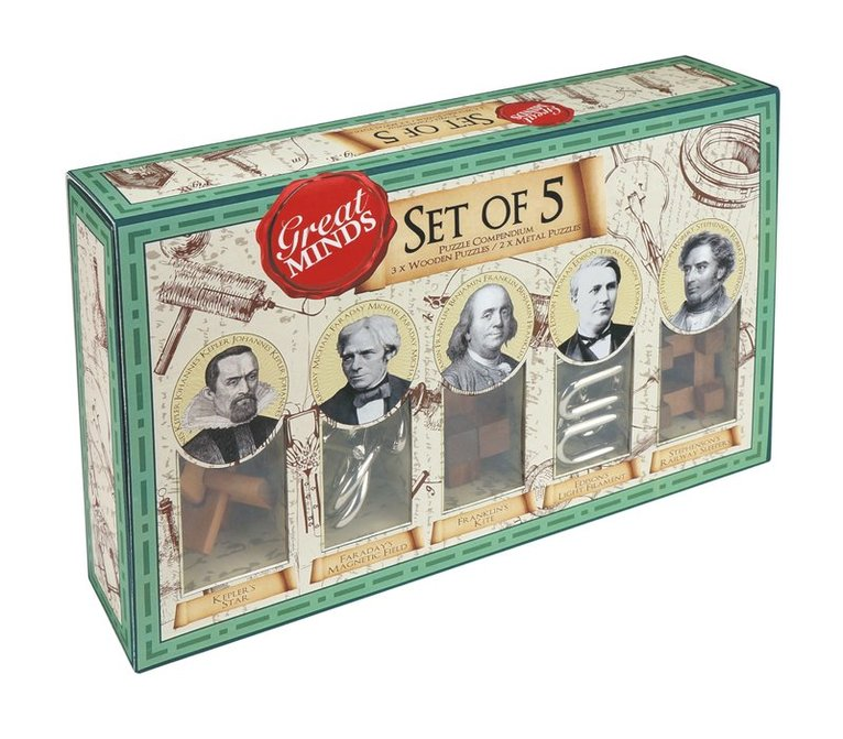 Great Minds Set of 5 male 1