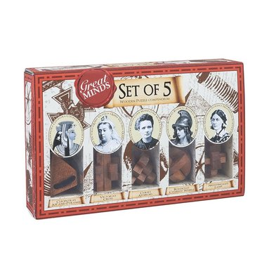 Knep & knåp Great Minds Set of 5 women