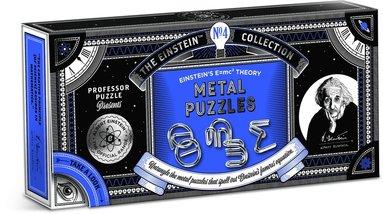 Einstein E=MC2 Metal Puzzle
