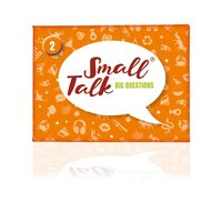 Small Talk - Big Questions orange