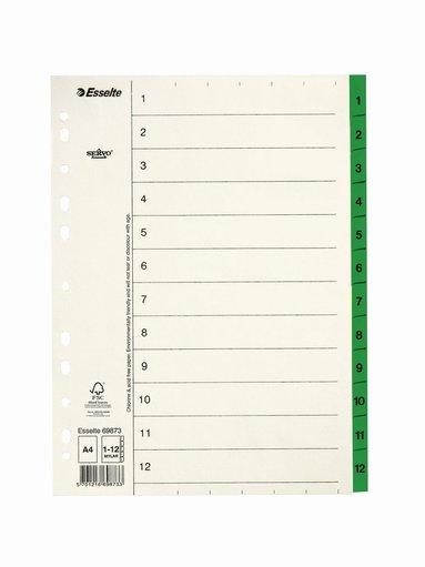 Register A4 1-12 servo