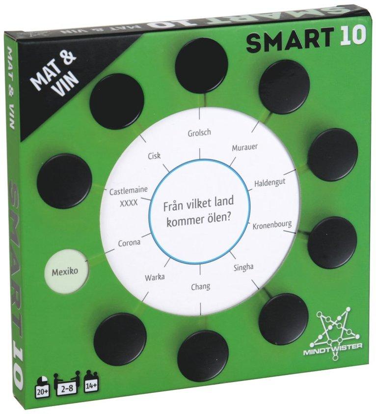 Smart10 frågekort - Mat & Vin 1