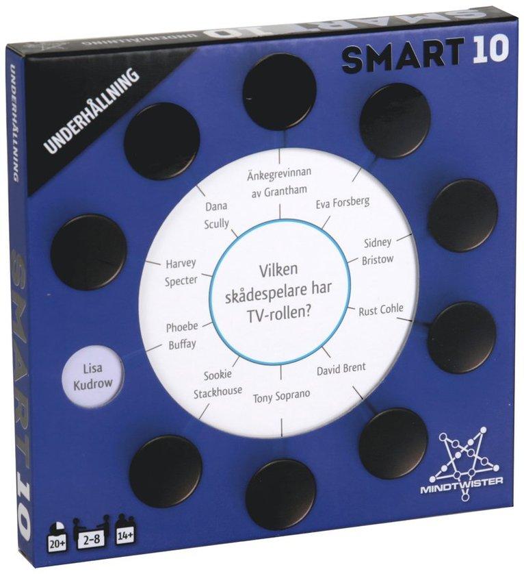 Smart10 frågekort - Underhållning 1