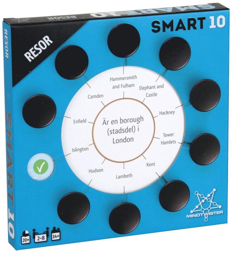 Smart10 frågekort - Resor 1