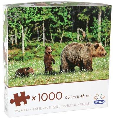 Pussel 1000 bitar Björnar