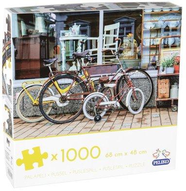 Pussel 1000 bitar Cyklar