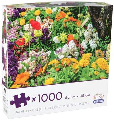 Pussel 1000 bitar Blommor