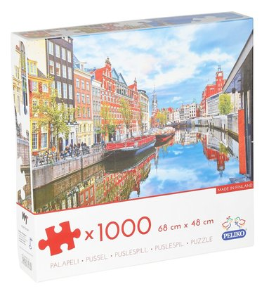 Pussel 1000 bitar Amsterdam 1