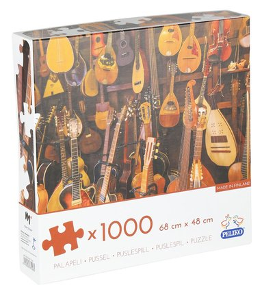 Pussel 1000 bitar Gitarrer 1