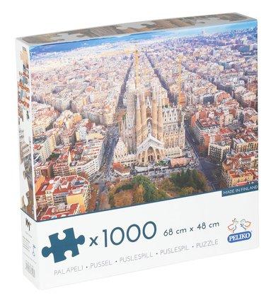 Pussel 1000 bitar Barcelona 1
