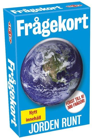 Kortspel Frågekort Jorden Runt