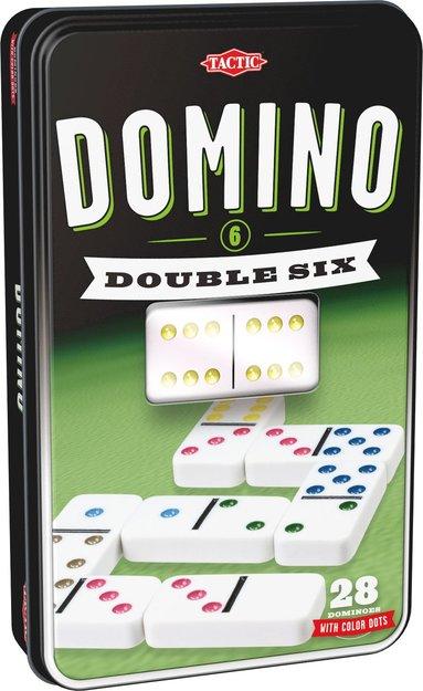 Domino Dubbel 6 plåtask 1