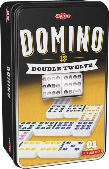 Domino Dubbel 12 plåtask 1