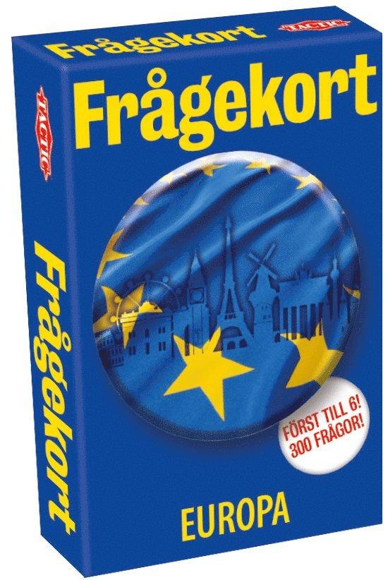 Frågekort Europa 1