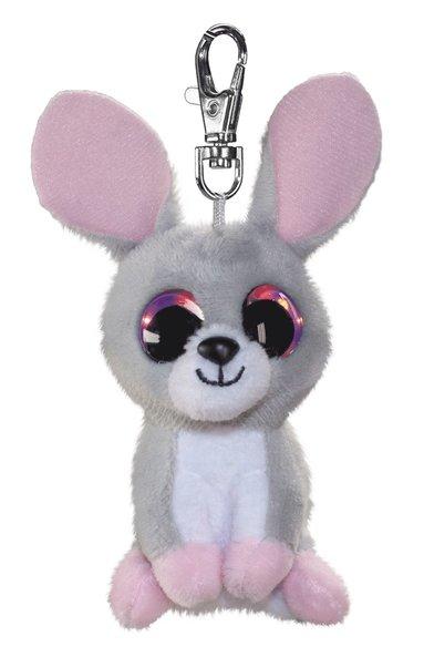 Mjukdjur Pupu kanin 8,5cm med clips
