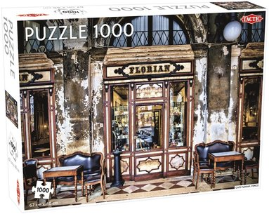Pussel 1000 bitar Café i Florens