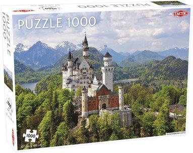 Pussel 1000 bitar Neuschwanstein