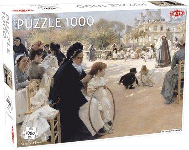 Pussel 1000 bitar Luxenbourg Gardens/Albert Edelfelt