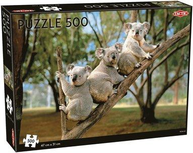 Pussel 500 bitar Koalor