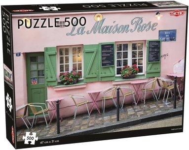Pussel 500 bitar Café i Paris