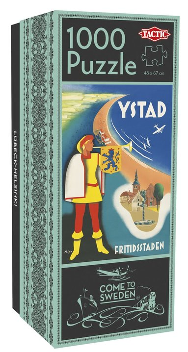 Pussel 1000 bitar Come to Sweden: Ystad
