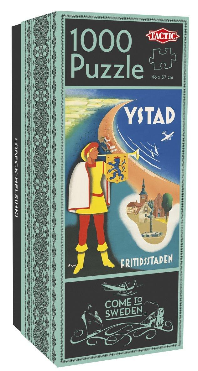 Pussel 1000 bitar Come to Sweden: Ystad 1