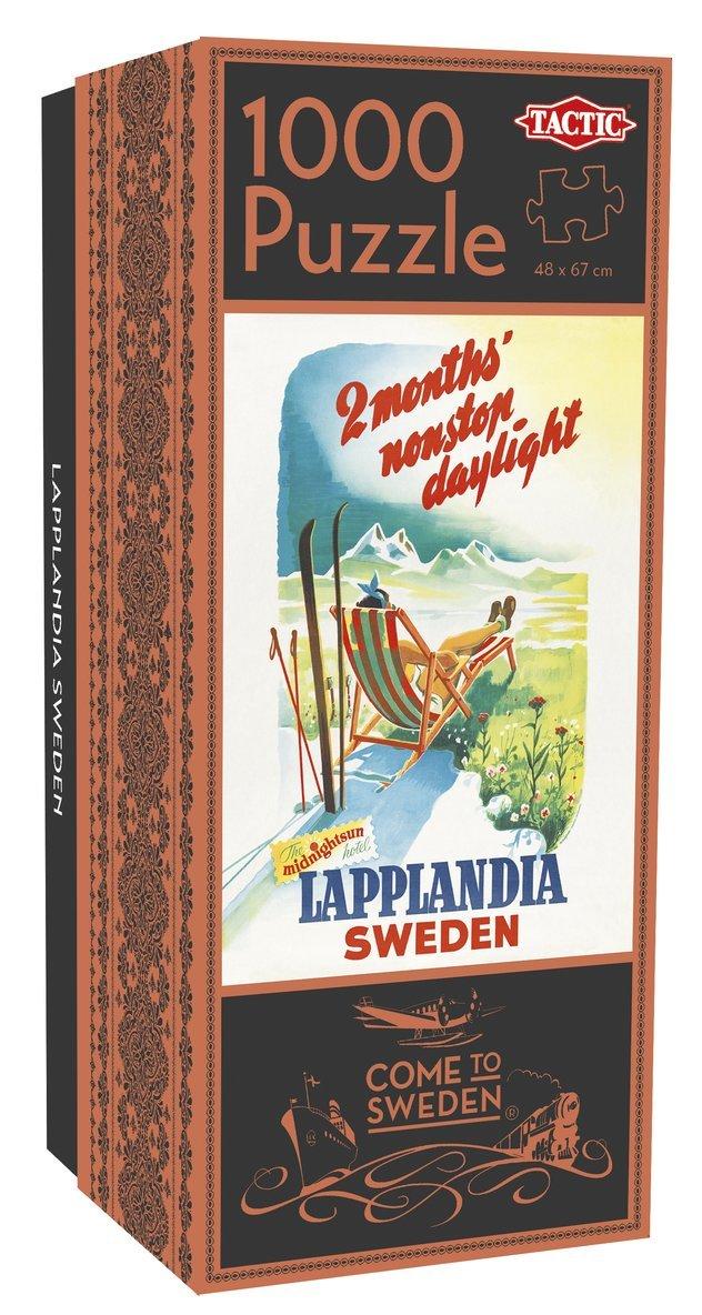 Pussel 1000 bitar Come to Sweden: Lapplandia 1