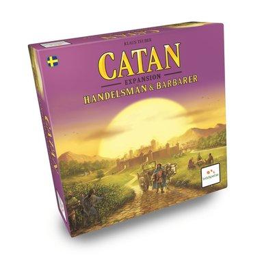 Catan Expansion : Handelsmän och Barbarer