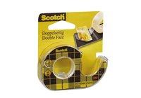 Tejp Scotch dubbelhäftande med hållare 6m x 12mm