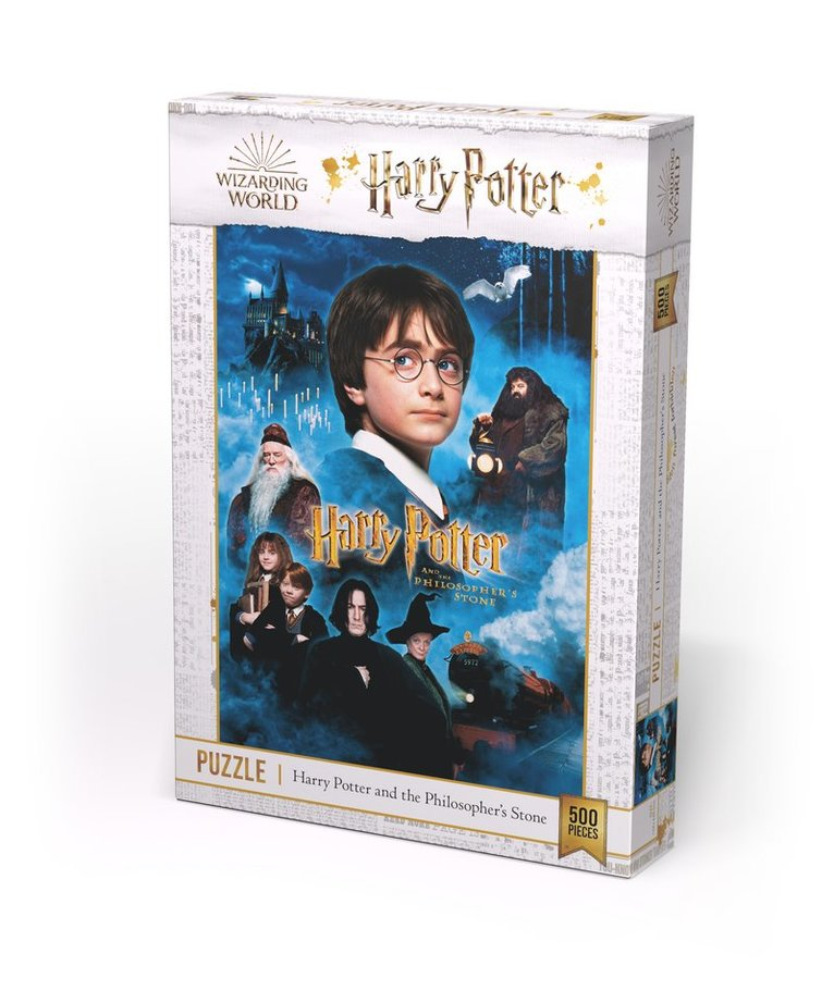Pussel 500bit Harry Potter and the Philosophers Stone 1