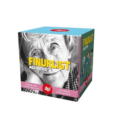 Spel Qube Finurligt med Astrid Lindgren