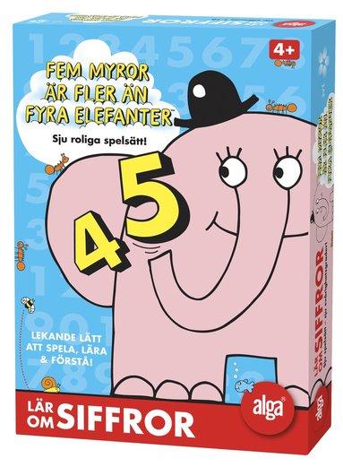 Fem myror är fler än fyra elefanter: Siffror