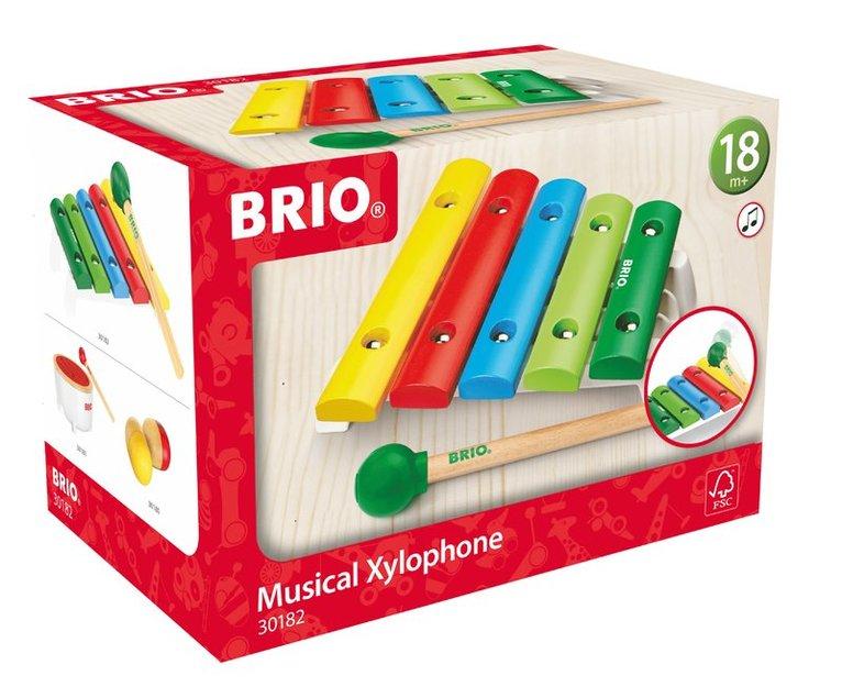 Instrument Brio musikalisk xylofon 1