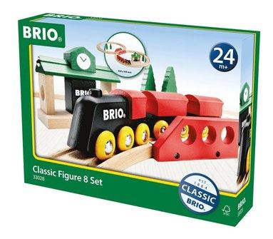 Brio tågbana klassiskt figurset, 8 delar 1